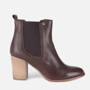 Barbour Women's Valentina Heeled Chelsea Boots - Mocha