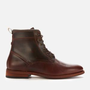 Barbour Men's Backworth Derby Boots - Mahogany