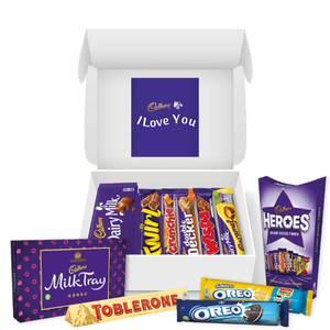 Cadbury Chocolate Hamper - I Love You