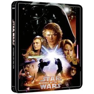 Exclusivité Zavvi : Steelbook Star Wars, épisode III : La Revanche des Sith – 4K Ultra HD (Édition 3 Disques Blu-ray inclus)
