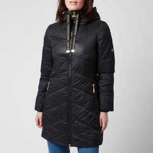 Barbour International Women's Portimao Quilt Coat - Black