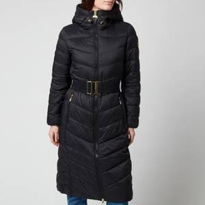 Barbour International Women's Lineout Quilt Coat - Black