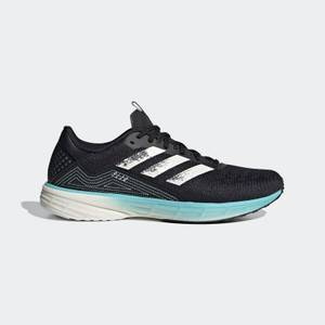 adidas SL20 PrimeBlue Running Shoes - Core Black/Chalk White/Blue Spirit