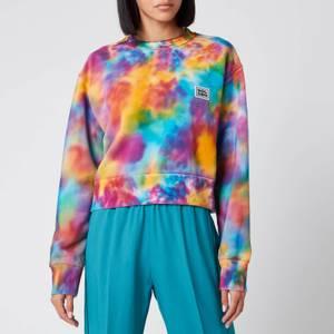 Golden Goose Deluxe Brand Women's Alisia Boxy Sweatshirt - Acquamarine/Golfinch/Fucsia