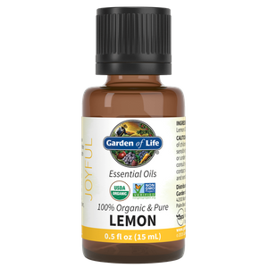 オーガニック エッセンシャルオイル - レモン - 15ml