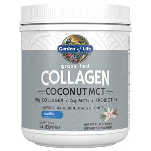 Collagene e cocco con trigliceridi a catena media (MCT) - Vaniglia - 408 g