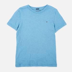 Tommy Hilfiger Boys' Basic Short Sleeve T-Shirt - Dark Allure Heather