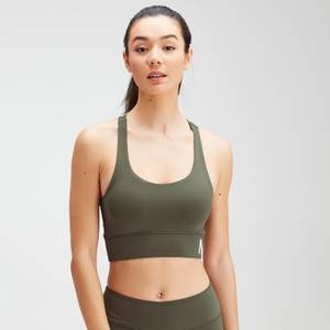 MP Women's Essentials Training Sports Bra - Dark Olive