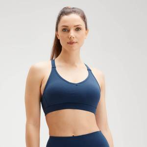 MP Women's Power Mesh Sports Bra - Dark Blue