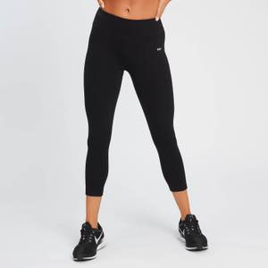 MP Women's Power 3/4 Leggings - Black