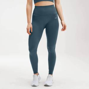 MP Women's Shape Seamless Ultra Leggings - Deep Sea Blue