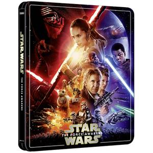 Star Wars Episodio VII: El despertar de la fuerza 4K + Blu-ray (3 discos) - Steelbook Ed. Limitada Exclusivo Zavvi