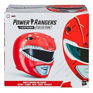 Power Rangers Lightning Collection - Casque Ranger rouge Mighty Morphin