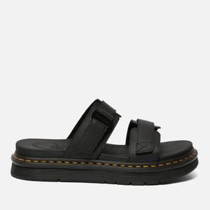 Dr. Martens Men's Chilton Hydro Leather Sandals - Black
