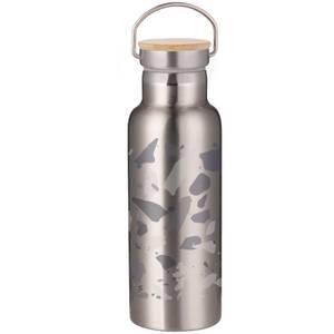 Blue Terrazzo Portable Insulated Water Bottle - Steel