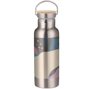Blobby Portable Insulated Water Bottle - Steel