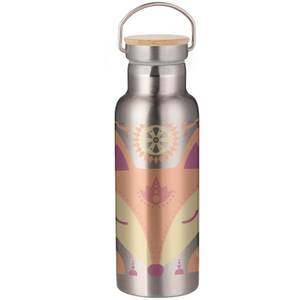 Nordic Fox Portable Insulated Water Bottle - Steel