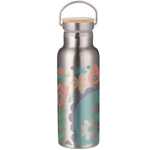 Nordic Dinosaur Portable Insulated Water Bottle - Steel