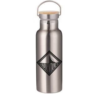 Adventure Portable Insulated Water Bottle - Steel