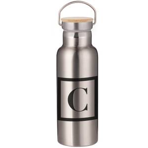 Boxed C Portable Insulated Water Bottle - Steel