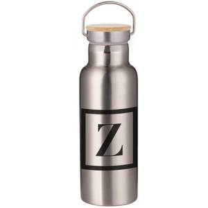 Boxed Z Portable Insulated Water Bottle - Steel