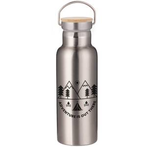 Adventure Is Out There Portable Insulated Water Bottle - Steel