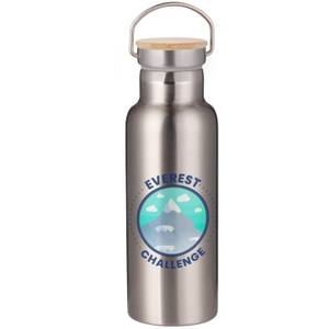 Everest Challenge Portable Insulated Water Bottle - Steel