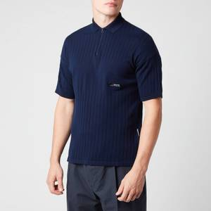 Napapijri X Martine Rose Men's E-Towan Polo Shirt - Maritime Blue