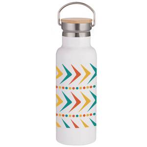 Arrows Portable Insulated Water Bottle - White