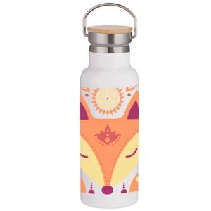 Nordic Fox Portable Insulated Water Bottle - White
