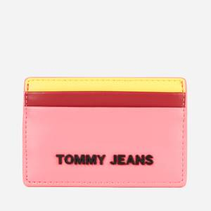 Tommy Jeans Women's Credit Card Holder - Pink Multi
