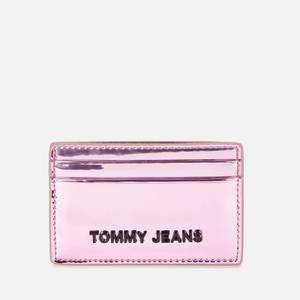 Tommy Jeans Women's Credit Card Holder - Metallic