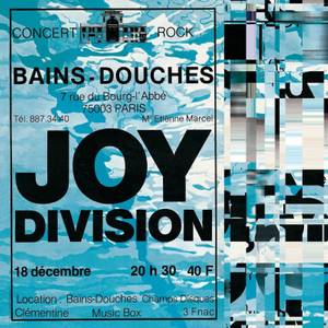 Joy Division - Live At Les Bains Douches / Paris December 18 / 1979 LP