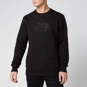 The North Face Men's Drew Peak Crew Sweatshirt - TNF Black