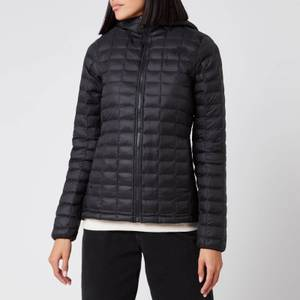 The North Face Women's Eco Thermoball Hoodie - Black Matte