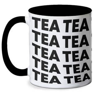 Tea Mug - White/Black