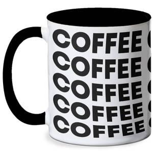 Coffee Mug - White/Black