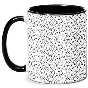 Small Dots Mug - White/Black
