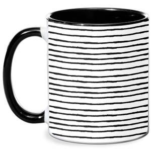 Stripes Mug - White/Black