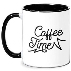 Coffee Time Mug - White/Black
