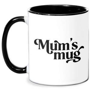 Mum's Mug Mug - White/Black