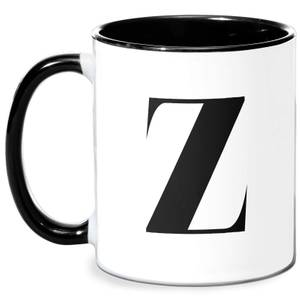 Z Mug - White/Black