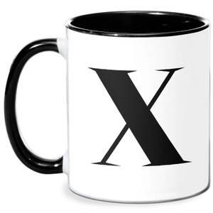 X Mug - White/Black