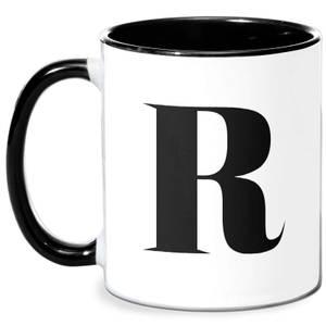 R Mug - White/Black