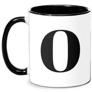 O Mug - White/Black