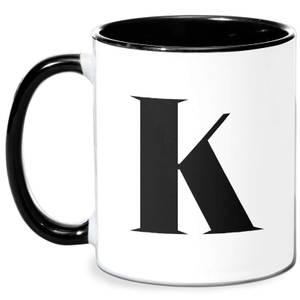 K Mug - White/Black