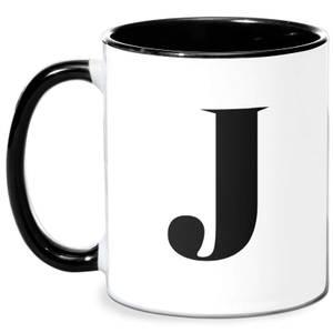 J Mug - White/Black