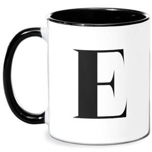 E Mug - White/Black