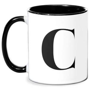 C Mug - White/Black