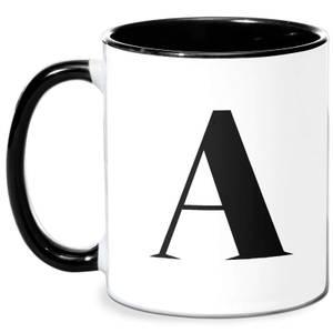 A Mug - White/Black